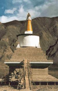 Stupa of Khen Rimpoche