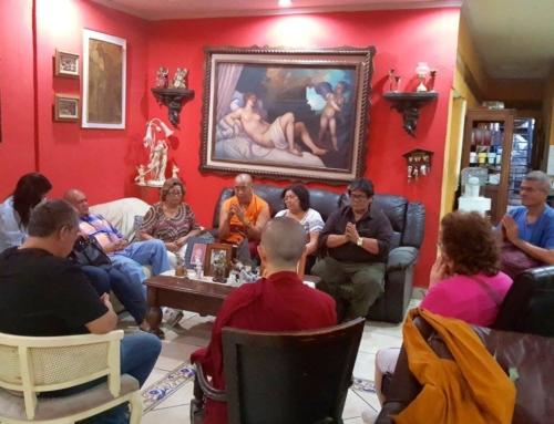 12-Mar-17 House Blessing 住家加持 La Bendición de la Casa.