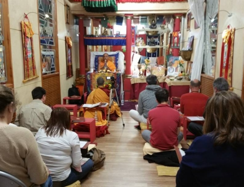 21/04/17 – Teaching at Ganden Choeling San Fernando