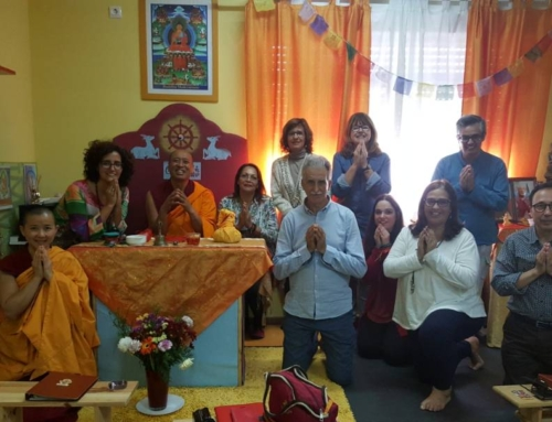 23/04/17 – Lama Tsongkhapa Initiation at Ganden Choeling Cadiz