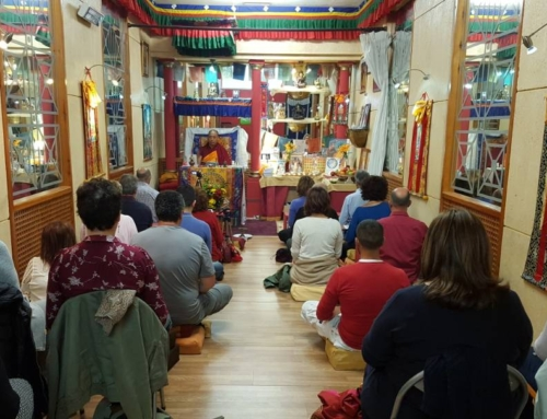 22/04/17 – Vajrapami Initiation at Ganden Choeling San Fernando