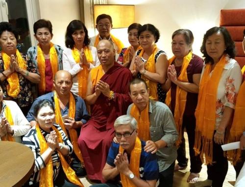 16-17/06/2017 Blessing & Dharma Talk 加持與開示 Bendición y darma charla