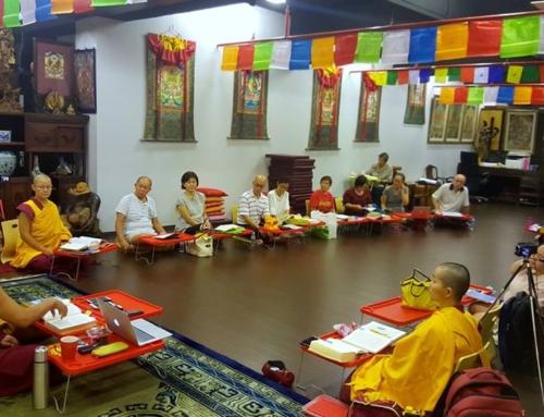 01 November 2017 Ganden Choeling Singapore Lamrim Meditation Group
