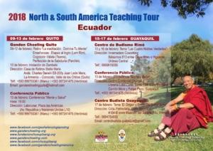 Itinerary - Ecuador - 2018