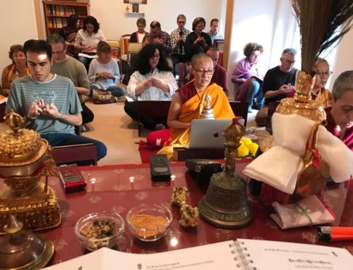 18-19/04/2018 Shantideva Buddhist Center, Novelda 諾韋爾達善地得瓦中心
