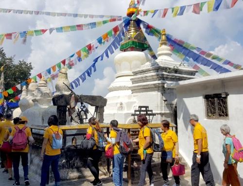 07/10/2018 Namo Buddha Stupa 捨身崖佛塔 Estupa de Namo Buda