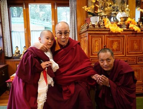 11/10/2018 Khentrul Tenzing Samten Rimpoche with Dalai Lama