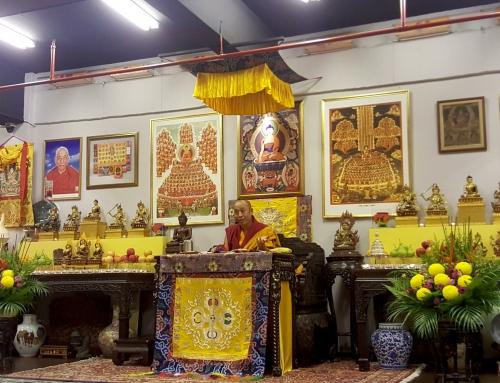 02-06/11/2018 Ganden Choeling Singapore 新加坡甘丹曲林藏傳佛教中心