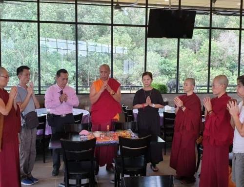 19/11/2018 Restaurant Blessing 加持餐廳 Bendición de un restaurante
