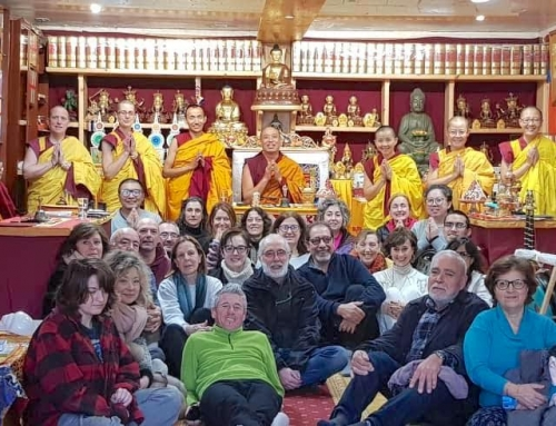 Lama Chopa Tsog 上師供養薈供法會