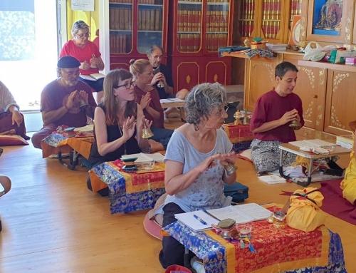 12/07/2020 Lama Chopa 上師供薈供 @ Ganden Choeling Menorca 甘丹曲林梅諾卡