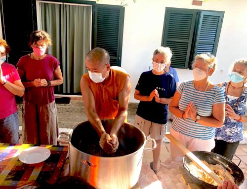 Tsog 薈供 @ Ganden Choeling Menorca 甘丹曲林藏傳佛教中心梅諾卡